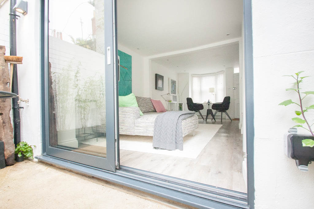 Filby Builders | Margaret Street, Brighton BN2 | Patio into Lounge