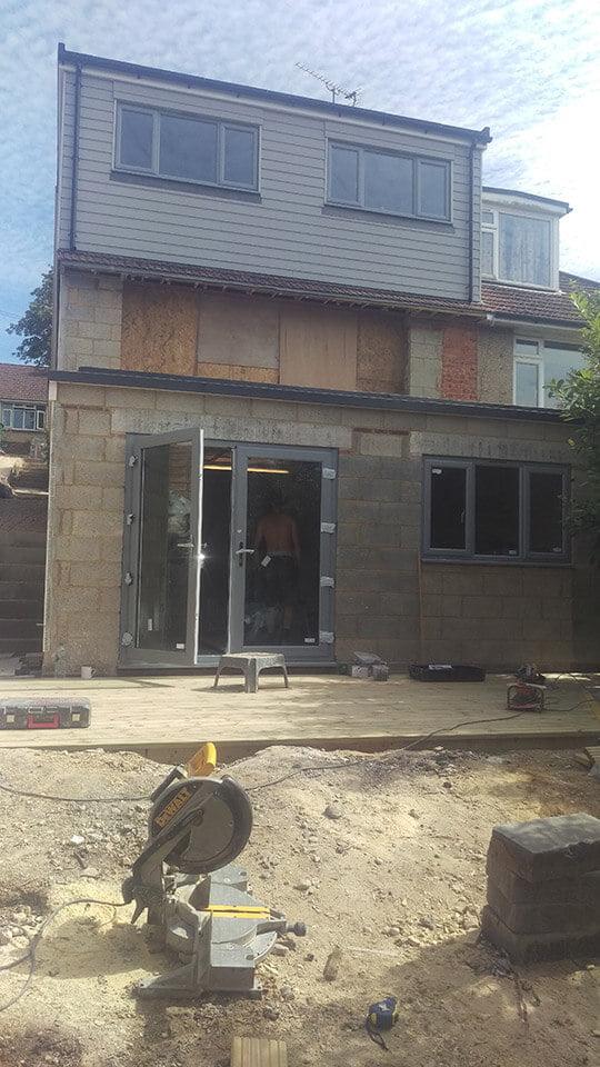 Filby Builders   Woodbourne Avenue loft conversion & extension   Brighton